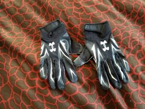 Under Armour Football Gloves.