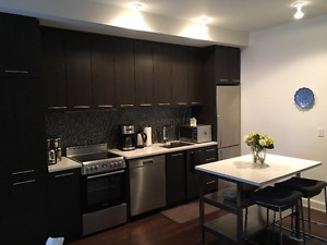3 1/2 condo, 1150/month, downtown, availible as of June or July