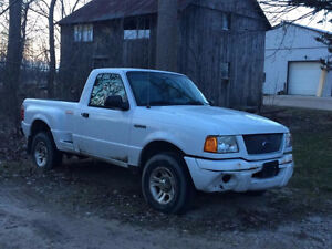 2003 Ford Ranger Edge 3.0 L V6 2WD *AS IS* CLEAN TITLE $800 OBO
