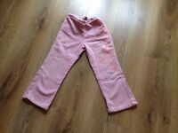 Kenzo jungle range girls pink jeans clothes clothing age 5-6 6 years old