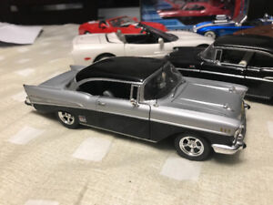 Chevrolet bel air 1957 édition carquest diecast 1/24 die cast