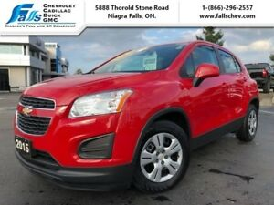 2015 Chevrolet Trax LS  NO ACCIDENTS, ONE OWNER, BLUETOOTH