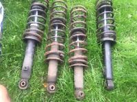 Mazda Mx5 mk1, Springs and Shocks. Genuine Parts. Good Condition. Front and Rear. Only £50 ONO