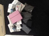 Box of leather cases fot ipad etc £ 10.00 16 cases in total