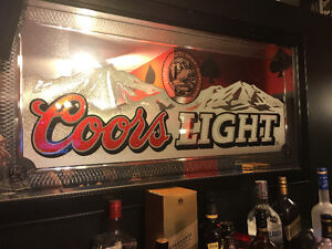 Coors light mirror