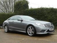 2013 MERCEDES E-CLASS E250 CDI BLUEEFFICIENCY S/S SPORT AUTO COUPE DIESEL
