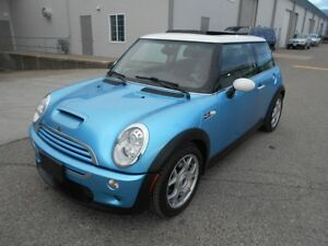 2005 Mini Cooper S 6 Speed Comes With 6 Monts Warranty