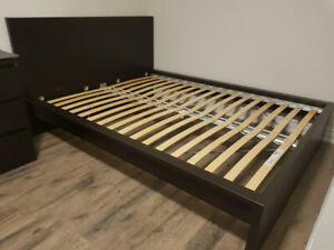 Ikea MALM Bed frame Queen: Excellent Condition