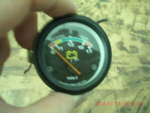 VOLTMETER GAUGE FOR CAR OR TRUCK WITH ALL FITTINGS.