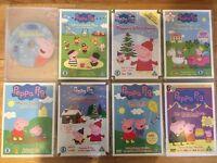 Peppa pig dvds