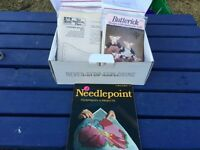 Needlepoint Patterns and Instruction Book