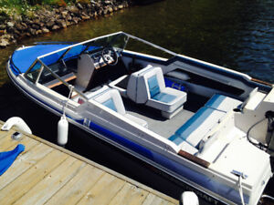 16' Thundercraft bow rider, Mariner 90HP + trailer & papers