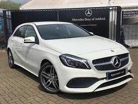 Mercedes-Benz A Class A 180 AMG LINE PREMIUM (white) 2016-05-14