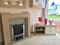 BRAND NEW STATIC CARVAN NEAR DURHAM - 12 MONTH SEASON - PET FRIENDLY -