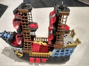 Fischer Price Toy Pirate Ship - loads of entertainment