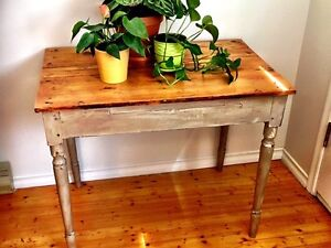 Refinished Pine top table