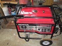 generatrice 5000 w honda