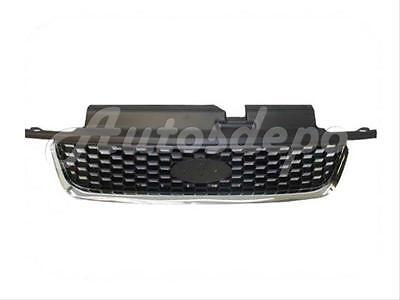 For 2001-2004 Ford Escape Limited/Xlt Grille Chrome/Black 2004 Ford Escape Grille