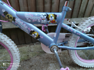 Girls bike would suit 4-7 years old
