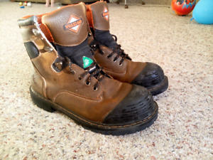 Steel-toe boots. Size 11
