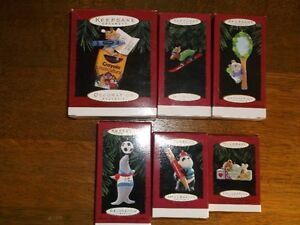 26 Collectible HALLMARK CHRISTMAS ORNAMENTS Belleville Belleville Area image 1