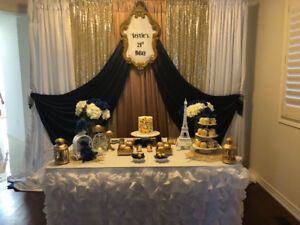 Small and large party decorator
