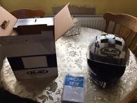 HJC nearly new helmet