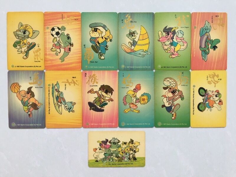 ElephantTalk International Calling Cards - 12 Chinese zodiac animal signs