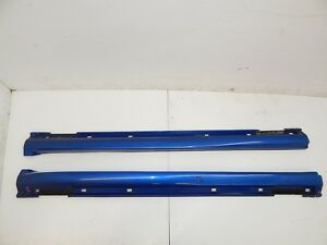 JDM SUBARU WRX STI OEM SIDE SKIRTS 2002-2006 STI SIDE SKIRTS OEM