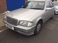 Mercedes Benz c200 sport automatic. Solid car. 1 year mot. 1 owner from new