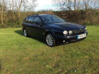 2004 54 Jaguar X-TYPE Sport 2.0D Estate Manual Black