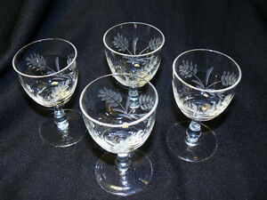 Hand carved glasses