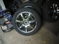 motei racing rims and new rubber