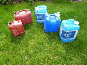 Gas Can/ Water Containers