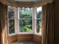 Timber sash and case window renovation repair and draughtproofing
