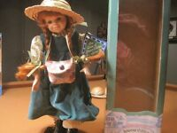 VERY RARE ~ ANNE OF GREEN GABLES PORCELAIN DOLL