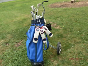 Northwestern right handed golf set