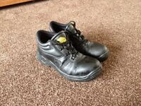 Steal toe size 8 boots