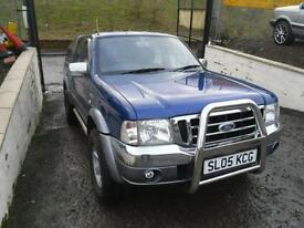 2005 FORD RANGER Pick Up Thunder Double Cab TD 4WD NO VAT. FULL YEARS MOTR