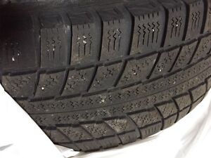 For sale! Four Winter Tires on Rims London Ontario image 2
