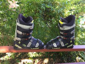 Lange X7 ski boots size 12