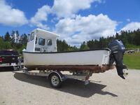 Cape Island Boat with 2014 Yamaha Motor