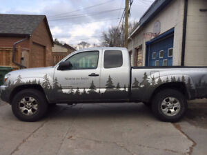 For Sale: Silver 2009 Tacoma SR5 TRD $17,000