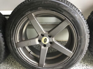 Winter tires with mags 19 inch