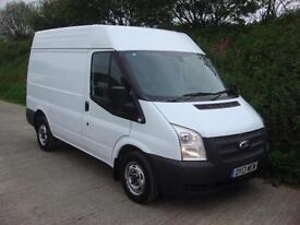 2013 13 Ford Transit 2.2TDCi 100PS 260S Med Roof Van 260 Euro 5 SWB Van 6 Speed