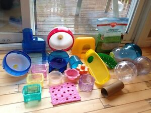 Hamster cage accesories