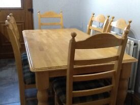 For Sale Dining Table & 6 chairs