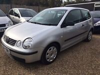VW POLO 1.2E 3DR 2004 IDEAL FIRST CAR CHEAP INSURANCE FULL SERVICE HISTORY