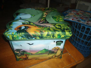 Dinosaurs and Carry Case