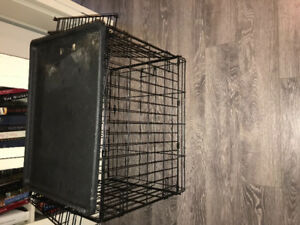 Small dog cage. 13x23.